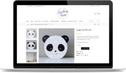 Membership Website Design - Smiling Faces Product Page